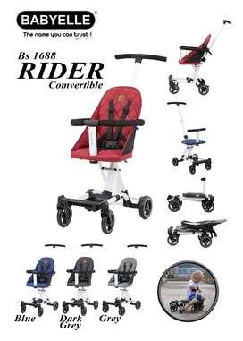 Stroller Bayi BabyElle Rider Comvertible BS1688 Stroler Traveller