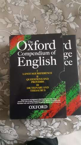 OXFORD DICTIONARY SET