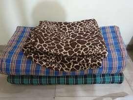 Mattress and blanket