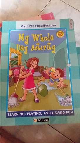 Buku Pelajaran Kosa Kata Bahasa Inggris Anak 12 Jilid