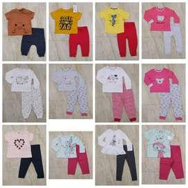 Boys tshirt girls frock export surplus hood jacket leggings