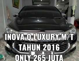 INNOVA REBORN V M/T 2.0 TAHUN 2016 HARGA 235 JUTA