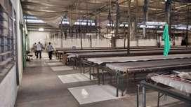 Disewakan gudang ex pabrik printing