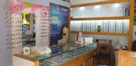 Ready to move fully furnished Opticals shop