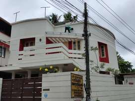 2storied House building for rent in Muttada for office purpose