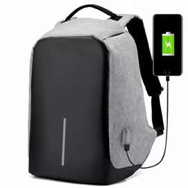Anti theft Backpack USB Charging Port Laptop Bag