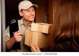 Jobs delivery boy urgent requirement