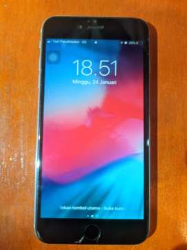 IPHONE 6 PLUS SPACE GREY 64GB MULUSS NO MINUS. LIKE NEW!!!