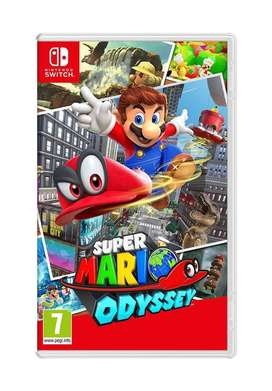 Mario Odessey for Nintendo Switch - Brand New sealed Game @ dtzone