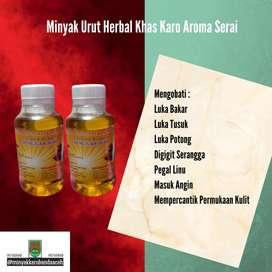 Minyak Urut Herbal Karo Aroma Serai