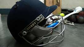 Shrey steel visor cricket Helmet