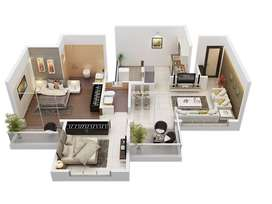 Many Amenities available in 2BHK Flat to balance your needs.