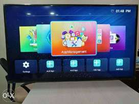 "40"" android led tv with 1 year warranty"