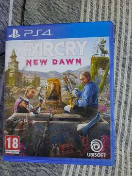 Farcry New dawn PS4 game cd