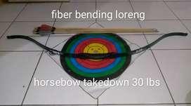 Busur panah horse bow takedown
