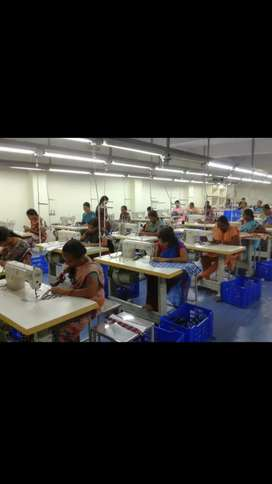Garments factory for sale