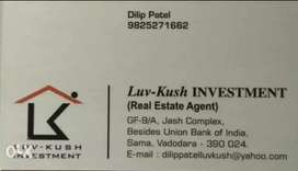 1bhk Flat is available for sale near Nutan