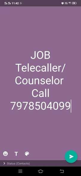 Telecaller/Counselor