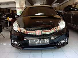 Honda Mobilio 1.5 E PRESTIGE A/T hitam 2015 bisa cash/kredit 100% ACC