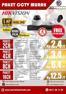 PAKET 5MP CAMERA FULL HD
