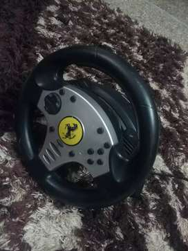 Steering wheel gaming