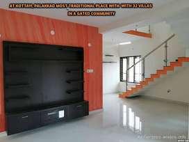@Kottayi - Double Floor-Low Budget 3BHK Villa for Sale