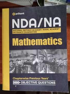 Nda mathematics books