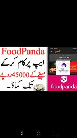 Food Panda Delivery Rider( urgent required)