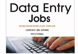 Home work at home-PART TIME JOB