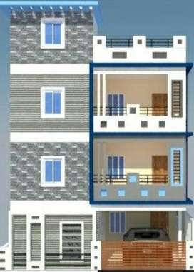 Independent House for Sale at Creative Nagar AS Rao Nagar