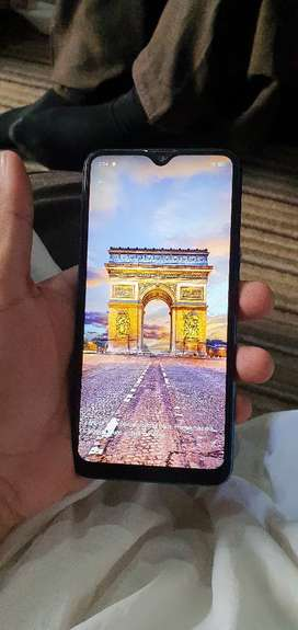 Realme 3 4gb 64gb full fresh conton charger avalible