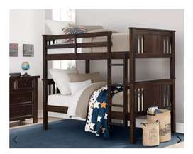 Solid wood Bunkbed.. can be made into 2 single beds also