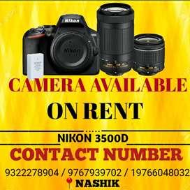 Camera on rent in nashik
