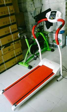 Treadmil elektrik excider walking bisa cod