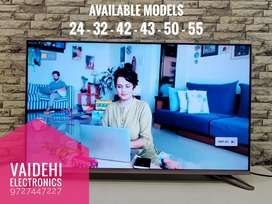"""Android 32"""" Smart With Warranty & Bill Free Wall Mount Stand"""