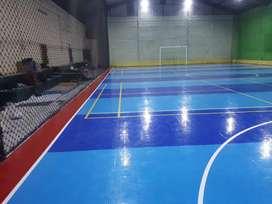 Lantai interlock untuk lapangan futsal standart internasional