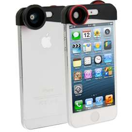 Fisheye Wide Angle Lens and Macro Lens for iPhone 5/5s/SE