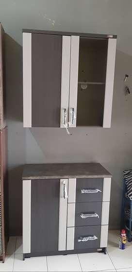 Kitchen set dapur 2 pintu termurah terlaris sale