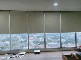 design gordyn vertikal horizontal roll blind terbaik