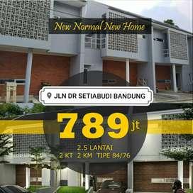 Siap Huni Rumah 2,5 Lantai SETIABUDI BANDUNG Lembang Promo KPR Inhouse