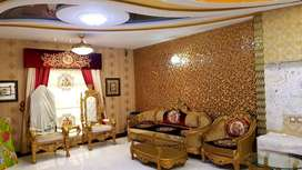 10 Marla Furnished House with Basement at Sector C, near Grand Masjid