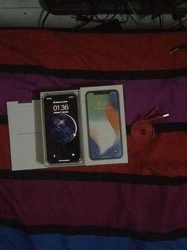 iPhone X 64GB Termurah Warna Silver BUTUH UANG CEPAT