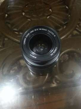 Canon zoom lens new Ef 5. 18.5mm