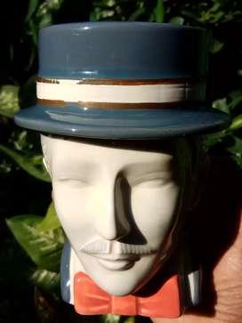 Mr brownson, coin bank..porcelain