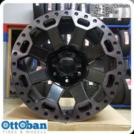 Velg AMW Warlords R17X9 h6x139.7 Land Cruiser Pajero Fortuner Hilux ,.