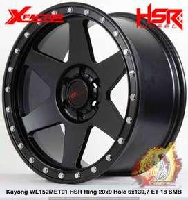 Velg Mobil Ring 20 HSR KAYONG Buat Hilux Double, Land Cruiser, Prado