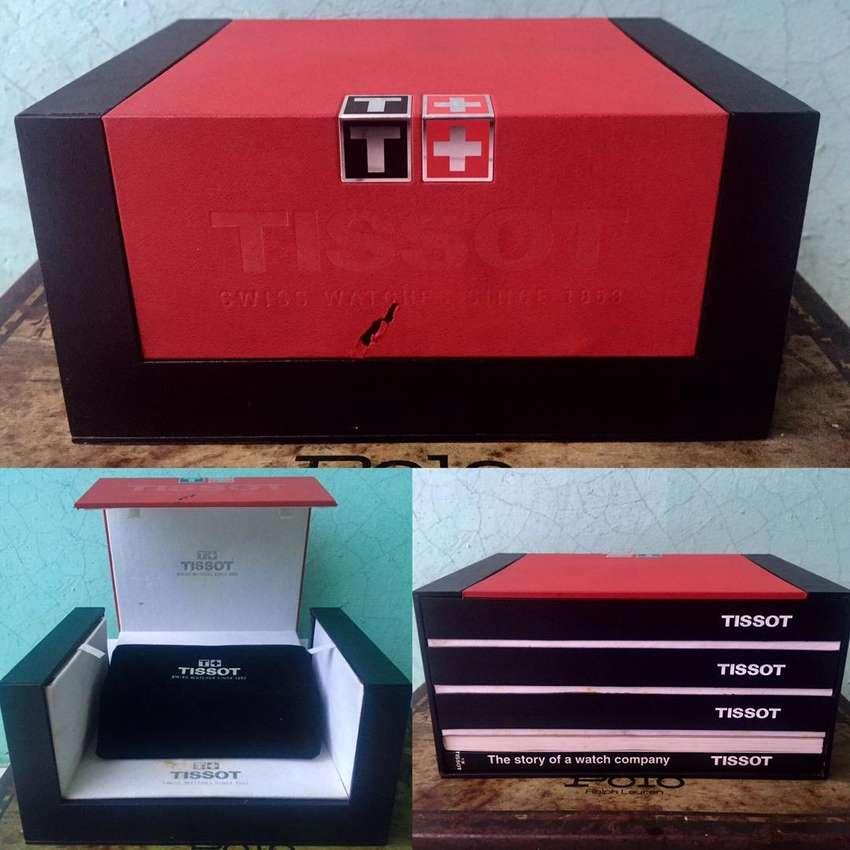 Box kotak jam tangan tissot original