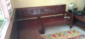 Jual kursi tamu bahan kayu jati asli