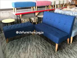 bench box, SOfa keryo warna bebas