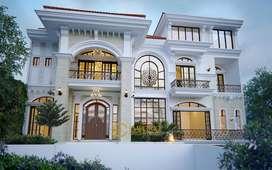 JASA ARSITEK Desain Rumah Mewah Depok - Emporio Architect